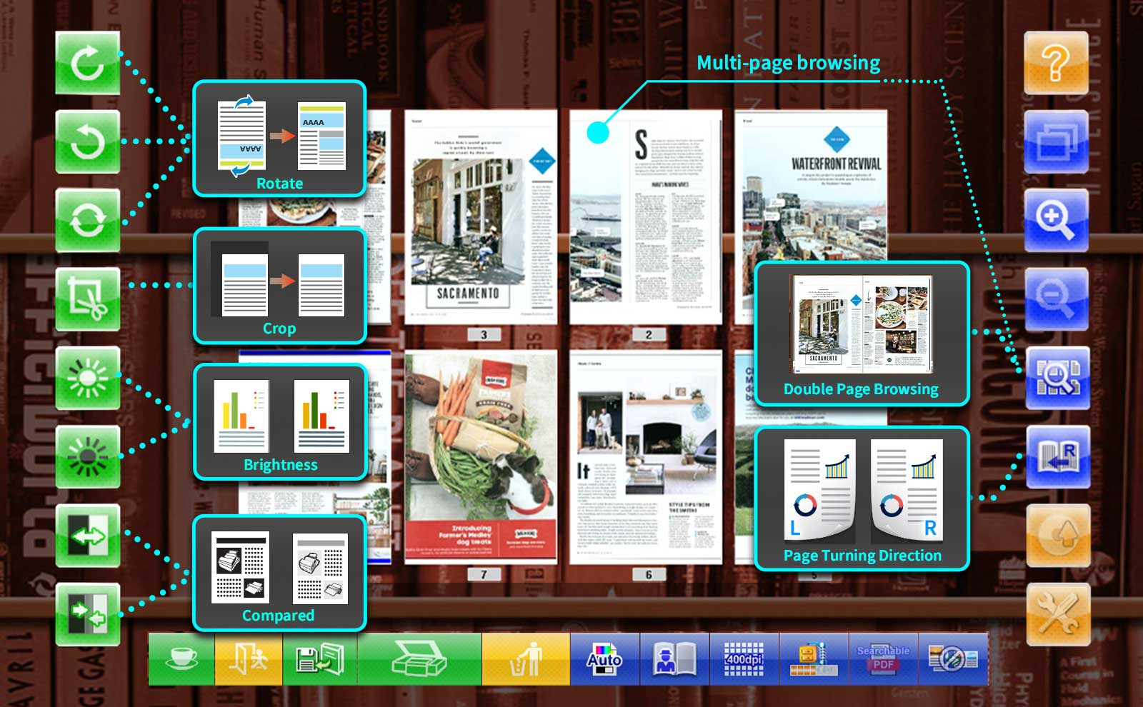 eBookScan image process fuction