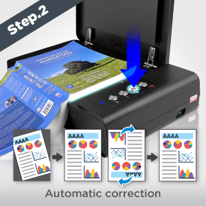 BookMaker equipped with the ability to automatic crop and rotate based on our intelligent page detection technology
