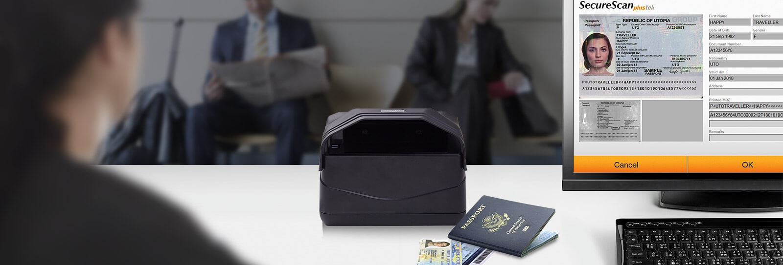 X-Mini Passport Scanner
