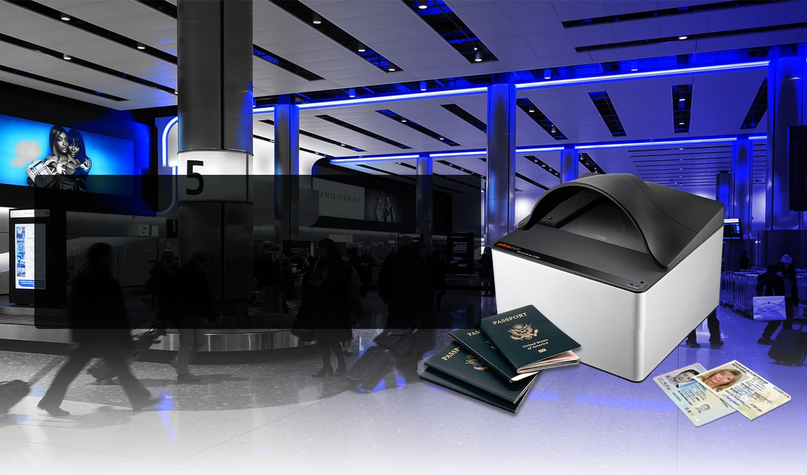 Rapidly capture and verify identity documents.