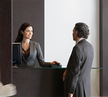 hotel check-in solutions
