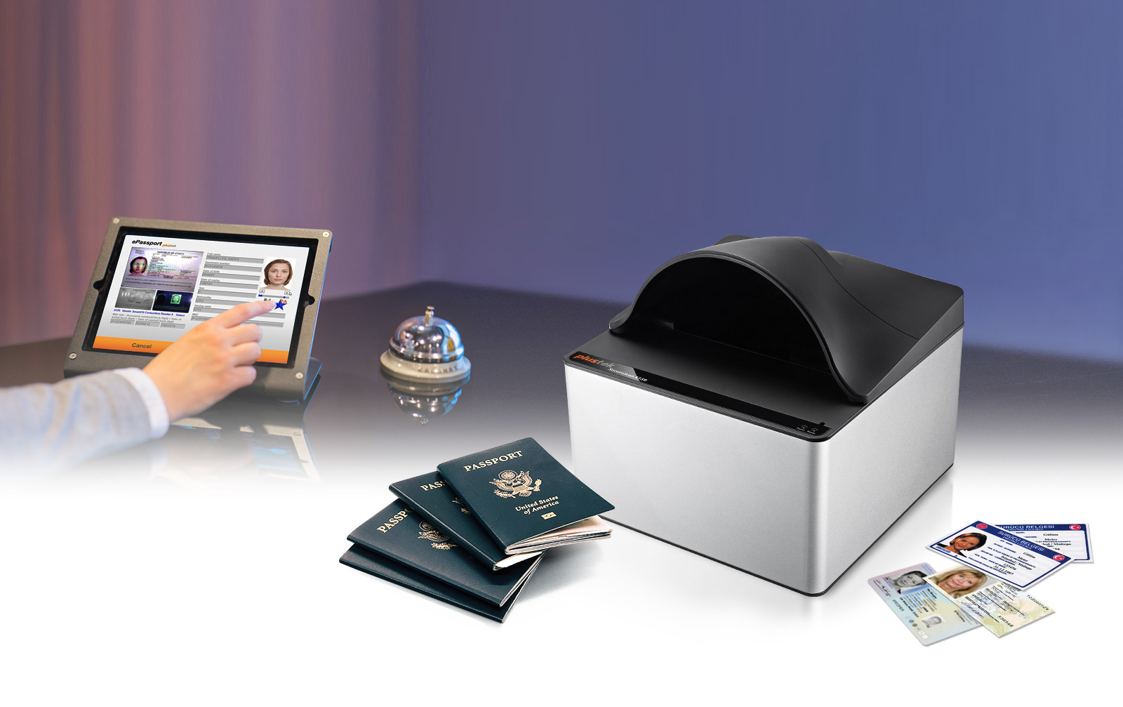 ID cards and passports reader