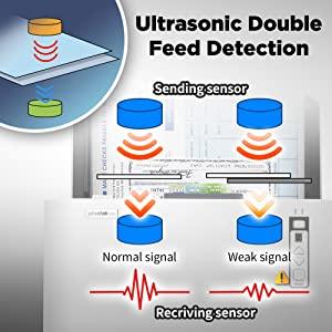 Ultrasonic Double Feed Detection
