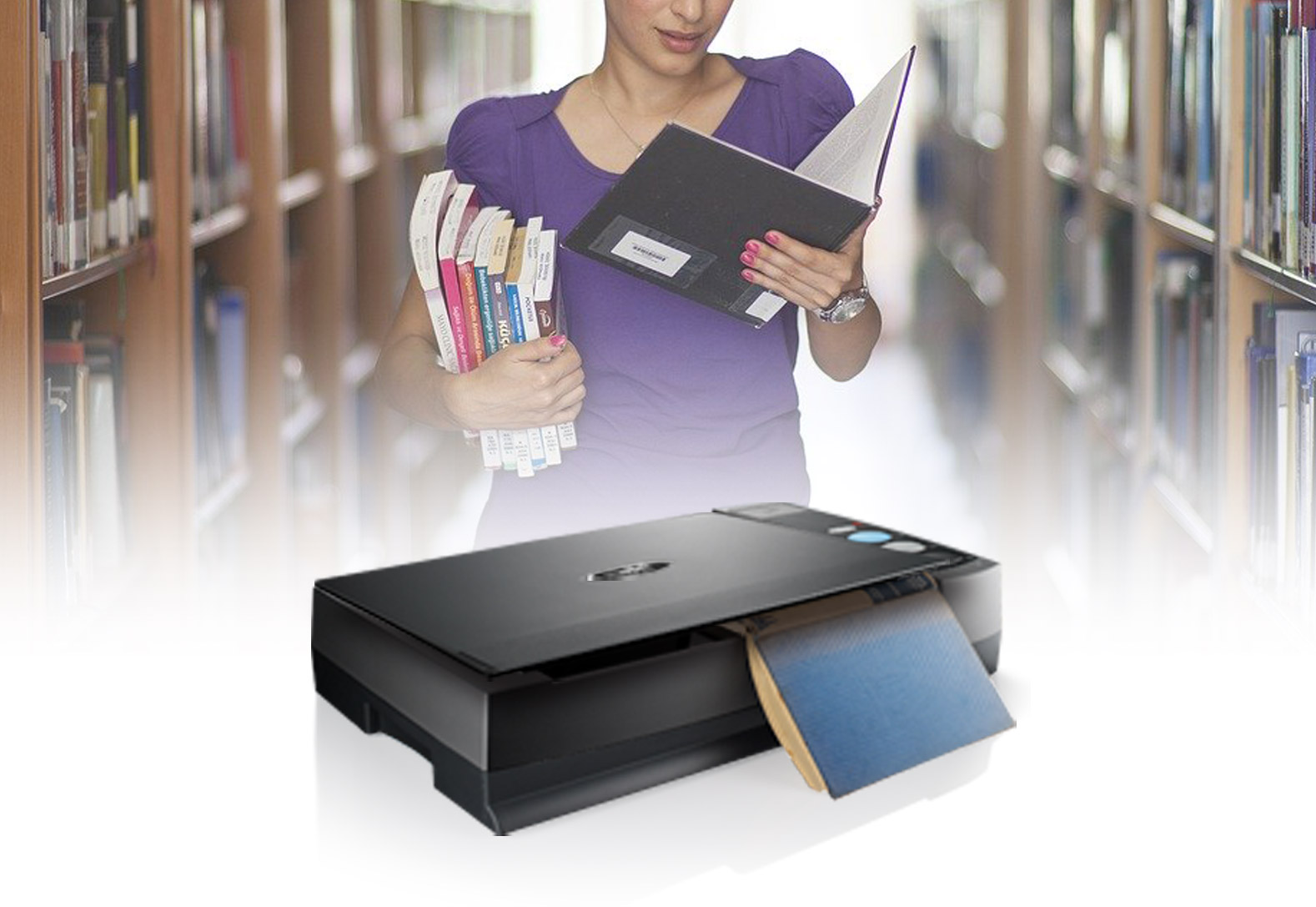Looking for an easy way to scan books into digital files