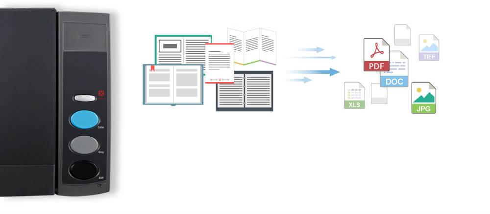 Gracias a los controladores twain y wia también puede escanear documentos múltiples