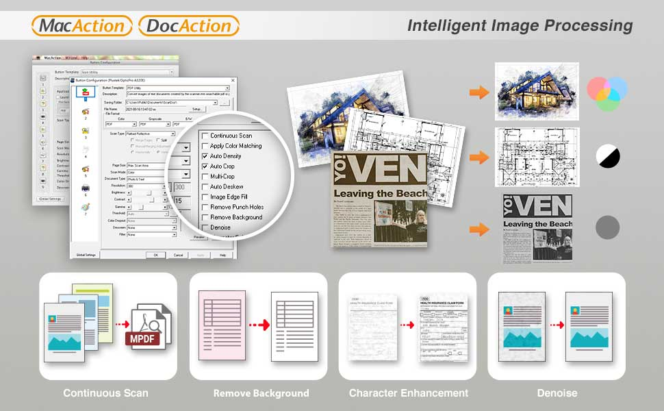 Various Features to Enhance Image Quality
