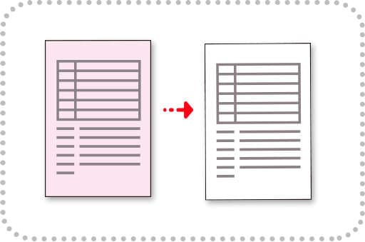 Remove paper background from scanned documents in order to get clear image