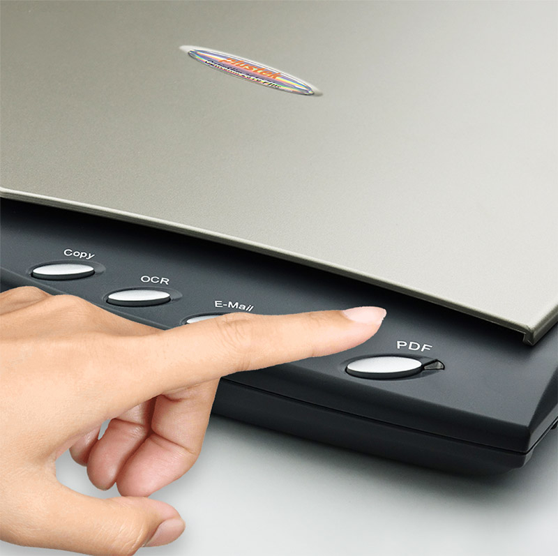Easy-to -use single touch buttons