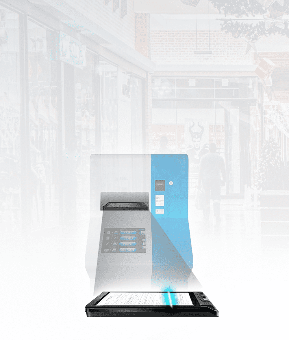 Self-service kiosk is the most effective way to optimize your service.