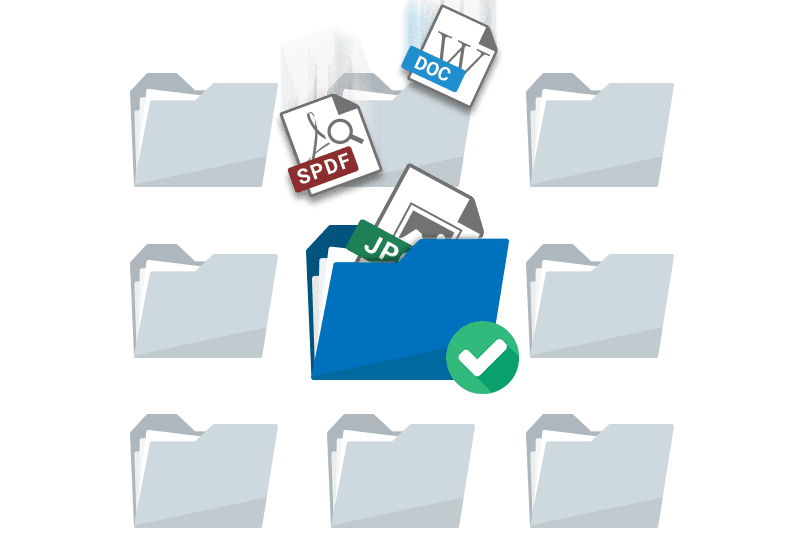 Manage and archive scannied files