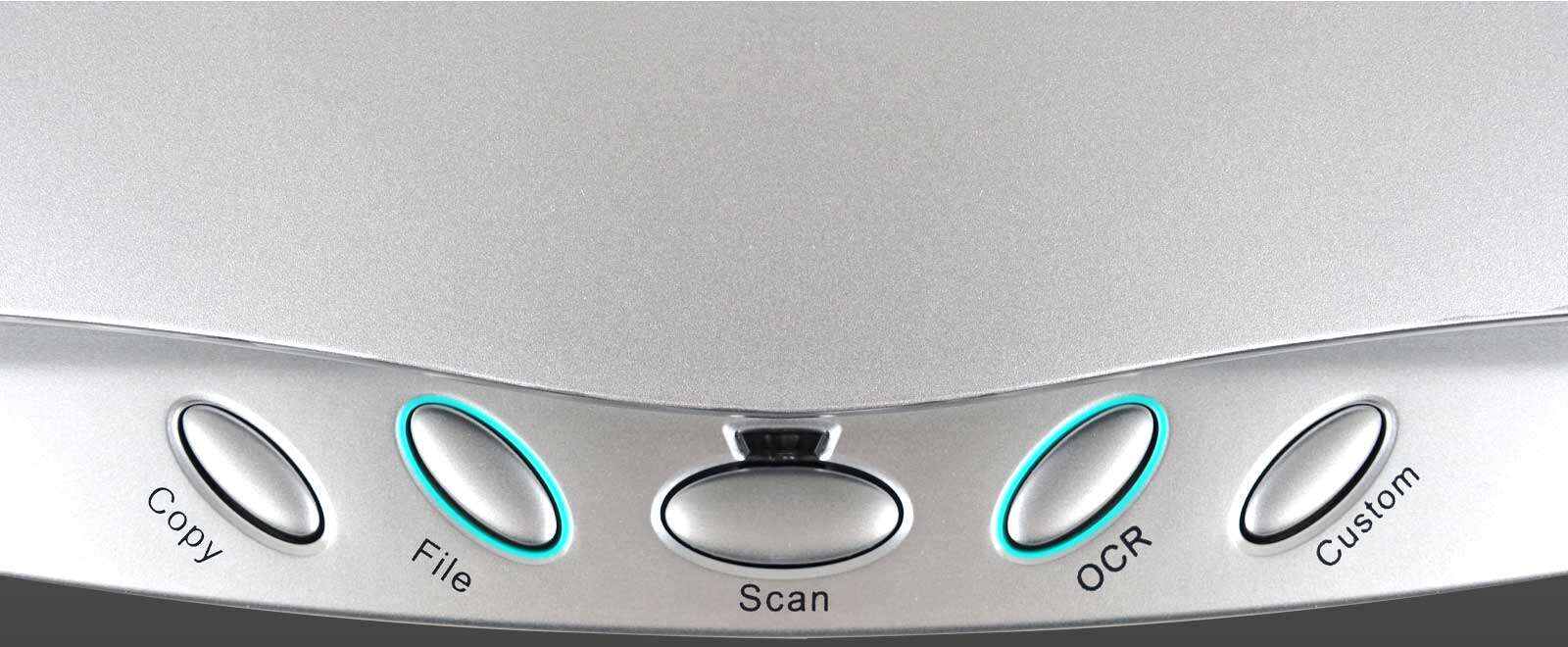 The OpticSlim 550 Plus has five one-touch scan buttons to simplify the whole scanning process and automate the most used functions.