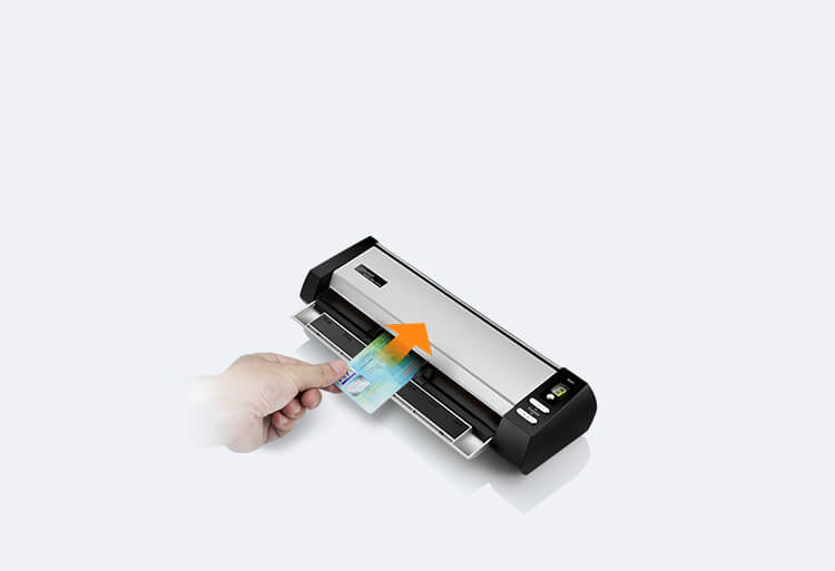 designed for card scan up to 0.8mm