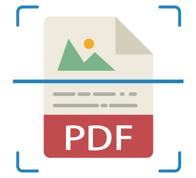 Bundled OCR features convert the image into editable and searchable