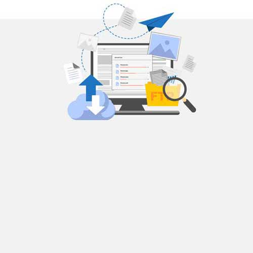 Once you have saved a file in cloud services, you can retrieve that file using a computer or any other device with internet connectivity.