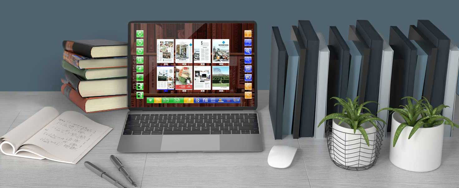 eBookScan is designed for scanning books. This software is a specialized book conversion program that allows you to conveniently digitize your books, magazines and other paper documents and save them under various formats.