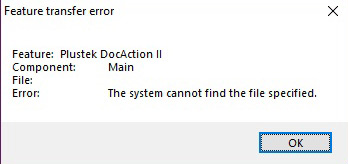 """fix """"the System Cannot Find the File Specified"""" error"""