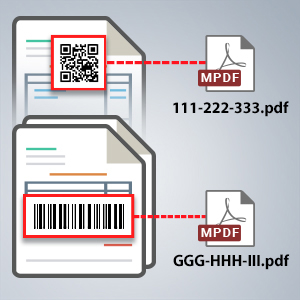Built-in Barcode Recognition