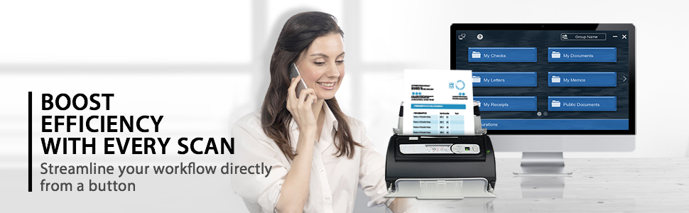 Boost efficiency with every scan