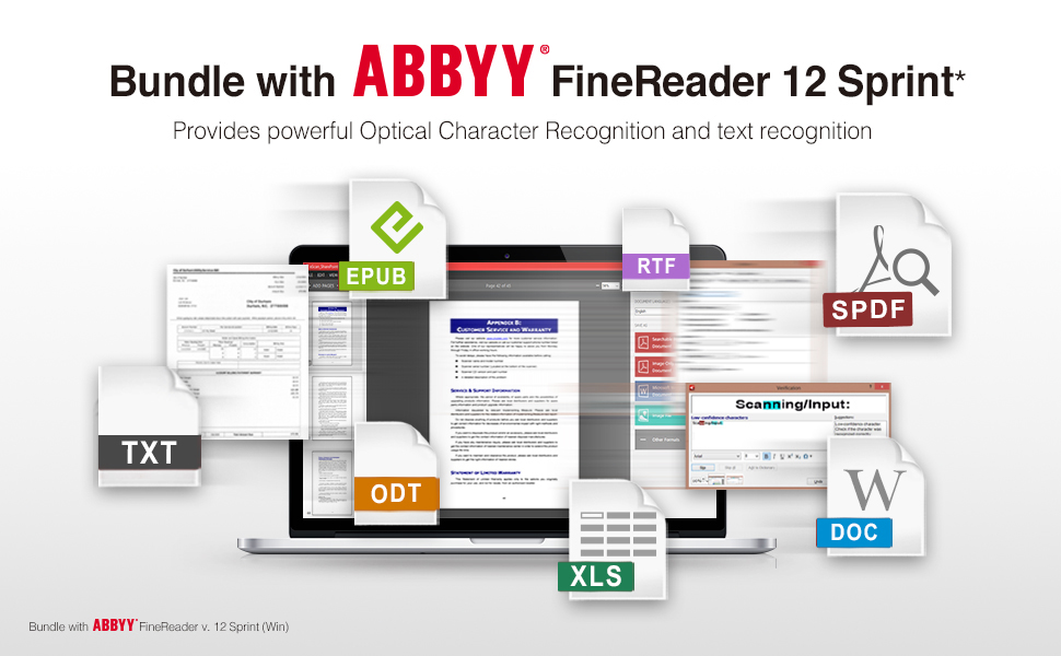Bundle with ABBYY® FineReader 12 Sprint