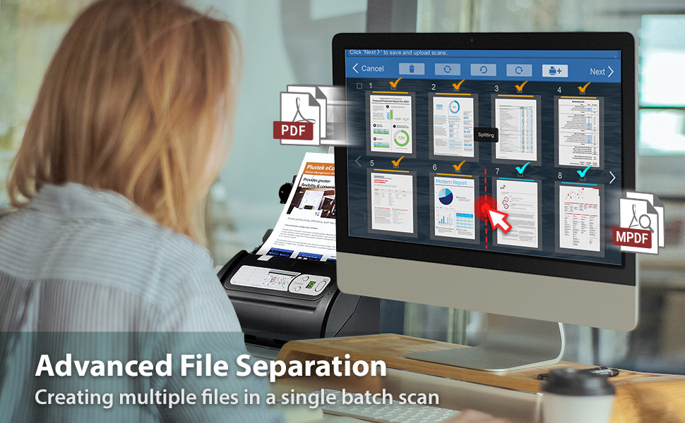Advanced File Separation