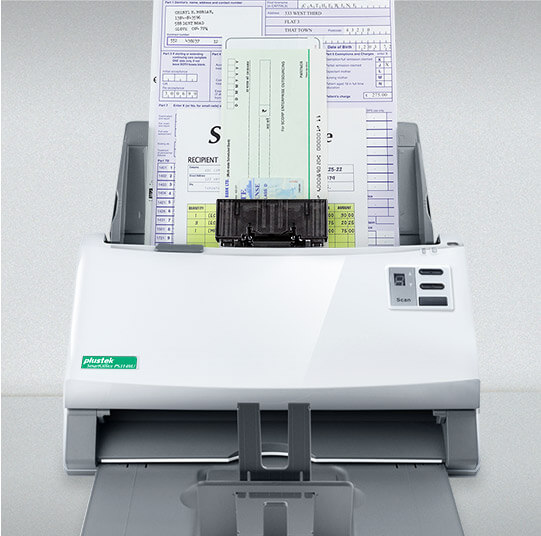 the mix paper frame can help you scan a batch of different size of document at the same time.